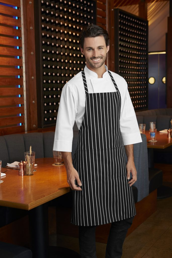 Three Quarter Sleeve Chef Coat